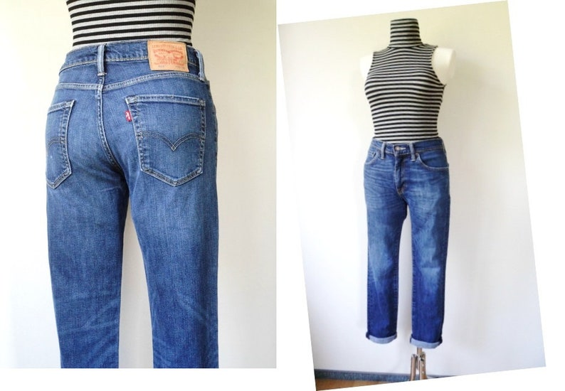affb41b8e72441 50% SALE    LEVIS 511 Women s Red Tab Faded Stonewash