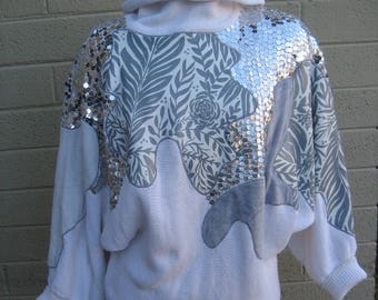 Funky Artsy sweater by Bonnie Boerer and Company