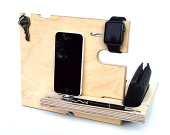 Catchall™ Made for Apple Watch Valet Stand: Phone, Watch, Wallet, Pen, Keys...