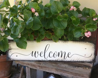 Welcome Pallet Wood Sign