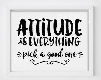 Attitude Everything Etsy