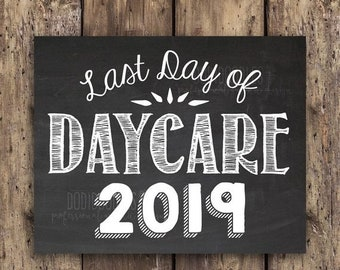 daycare banners etsy