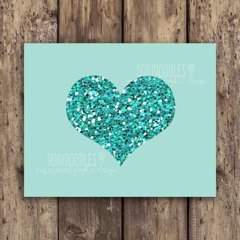 85ff22813 glitter heart printable, sparkle heart print, glitter heart, sparkle heart,  glam heart, teen room decor, girl room decor, gallery wall print
