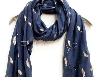b7cd50c5cfc Feather scarf | Etsy