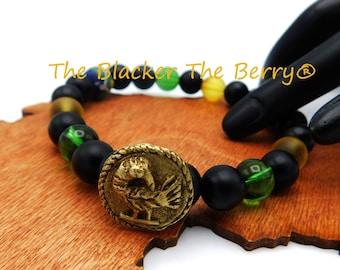 Details about  /Adinkra Resin BraceletsWest African Bracelets 5 Bracelet Set