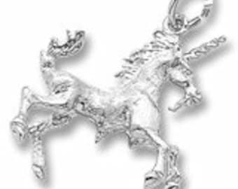 Sterling Silver Unicorn Charm by Rembrandt