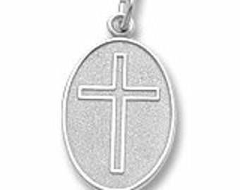 Sterling Silver Cross Charm by Rembrandt