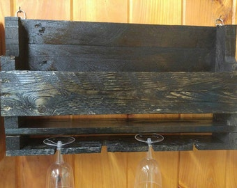 Rustic Wine Rack-Small
