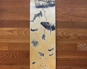 Submerged Skateboard