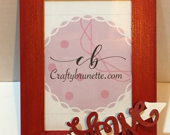 picture frame bridal shower prize baby shower prize gifts wall decor dorm decor home decor love theme cupid wedding
