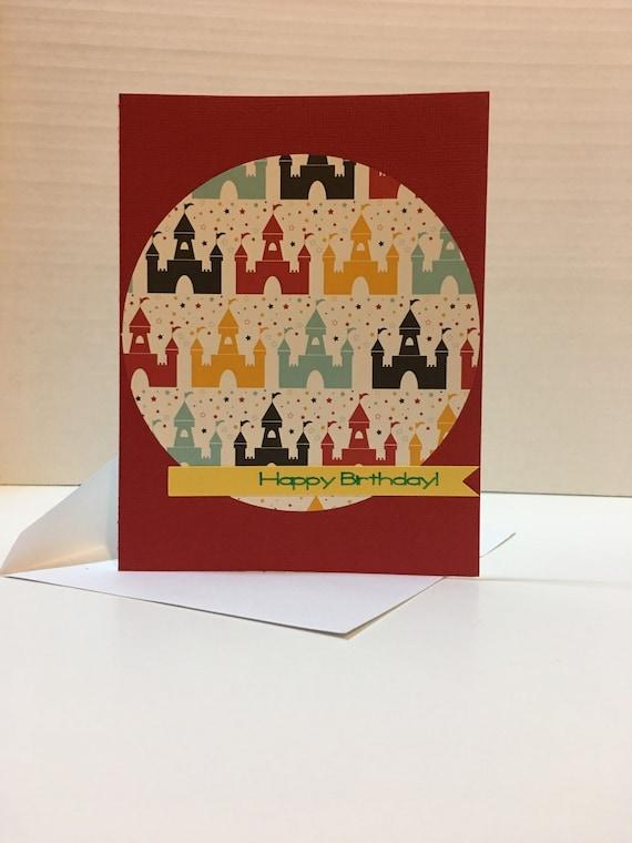 Birthday Card Disney Theme Greeting