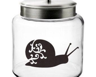 Snail Decal- Wall Decal, Cell Decal, Laptop Decal