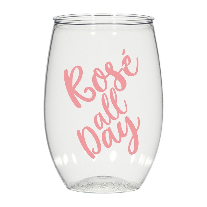 bachelorette cups wedding cups 16 oz Personalized plastic Stemless Wine glasses Set of 24 Party Favor cups bridesmaid cups Nash Bash