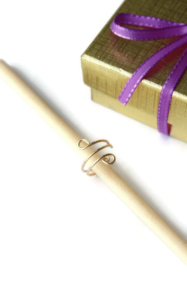 Ear Cuff 14K Gold-Filled Tiny Loops Fake Conch Earrings No Piercing Cartilage Minimalist Jewelry Wire Gift Step Nieces Sister Teacher Friend