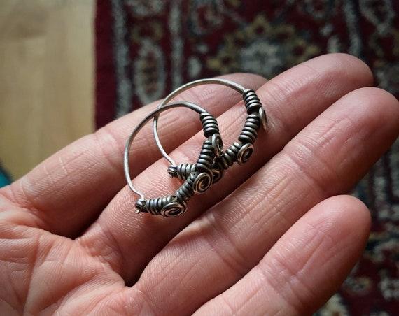 Small VINTAGE Rajasthani Earrings