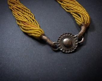 Antique Naga Tribe Bead necklace from Himalaya