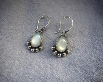 MOONS STONE Drop Earrings