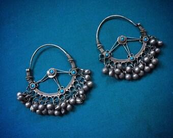 Vintage BALOCHI Silver Earrings