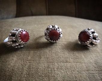 TURKMEN TRIBE Vintage old silver ring
