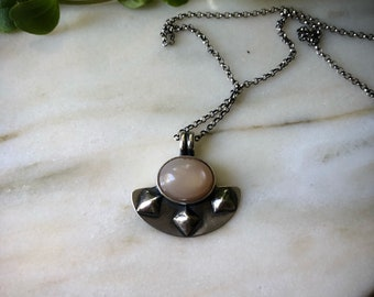PEACH MOONSTONE Amulet