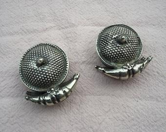 Antique TRIBAL ear plugs