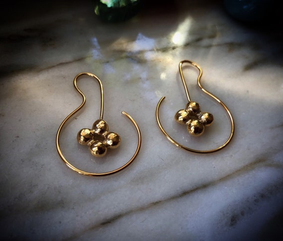 Golden NAKANO Earrings