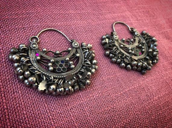 Vintage KUCHI Tribe Big Earrings