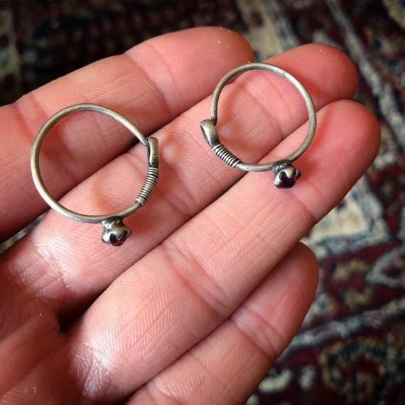 Vintage small TRIBAL Earrings from pakistan