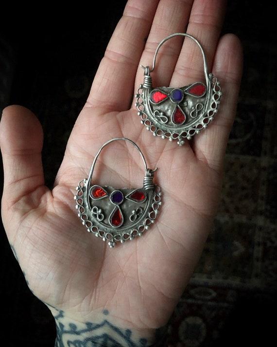 Vintage GYPSY Earrings from Afghanistan
