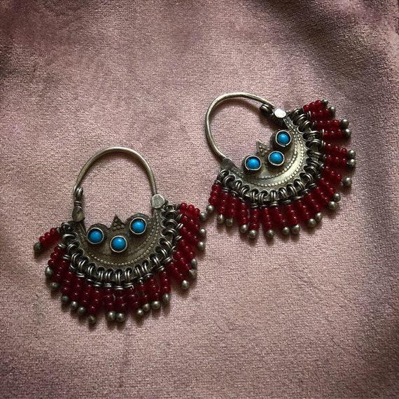 Vintage BALOCHI Tribe Earrings