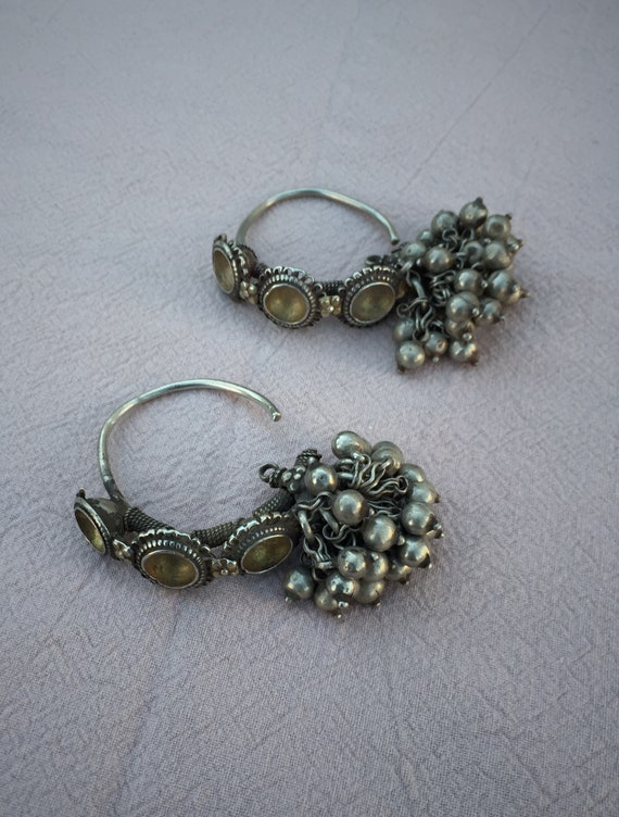 Rare ANTIQUE Ear Weights
