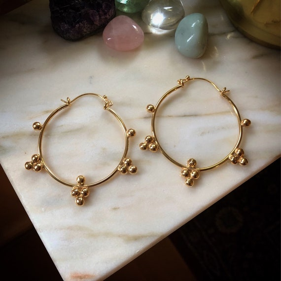 Golden GAIA Earrings