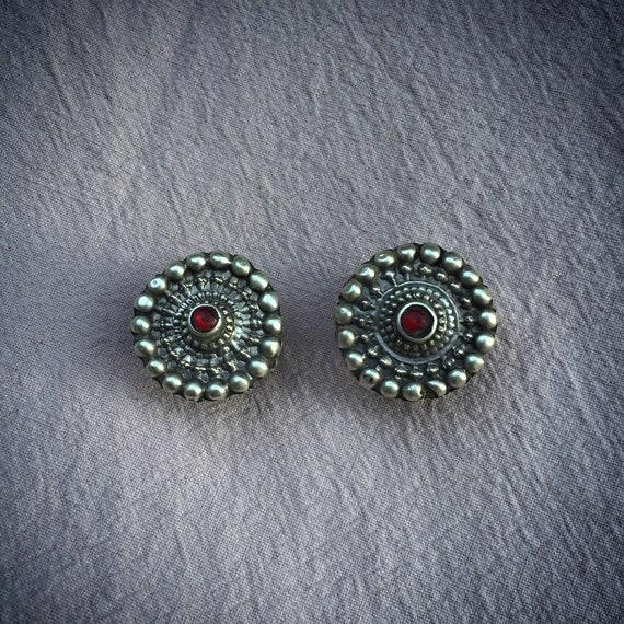 Vintage RAJASTHANI Plug Earrings