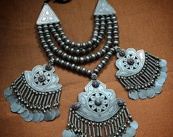 Old KUCHI Necklace from Afghanistan