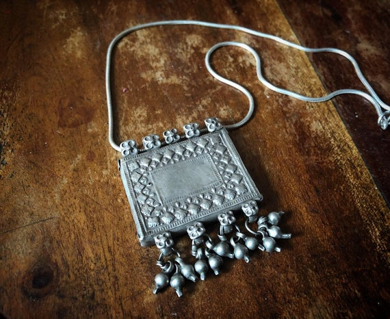 Vintage RAJASTHANI Pendant with bells