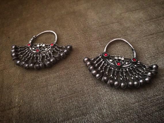 Antique WAZIRI Tribal Earrings
