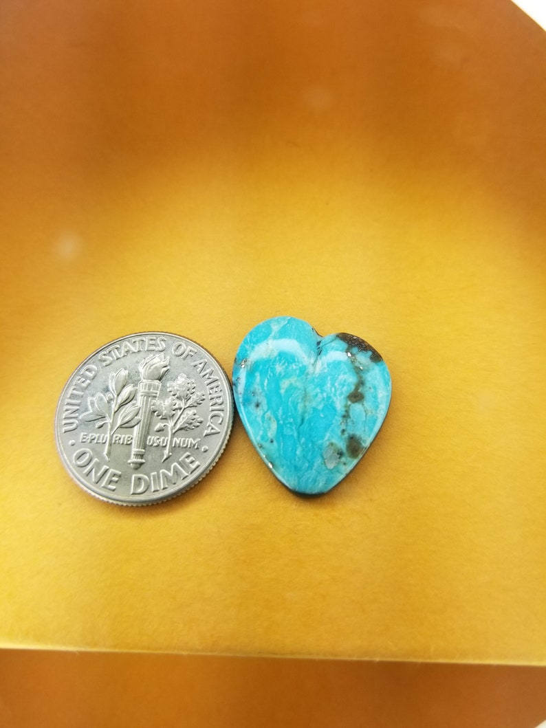 Natural Desert Fox Turquoise Cabochon
