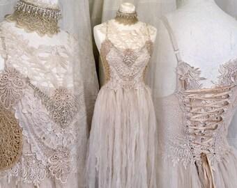 Lace Fairy Wedding Dresses