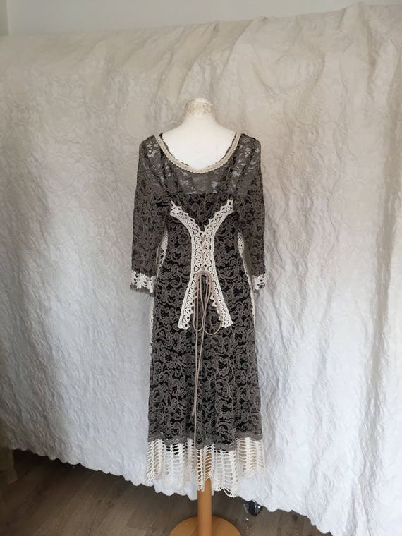 inspired dress black a long Rawrags one cream new sleeves christmas years party of and dress vintage party dress dress dress kind Dress BPqxCwq