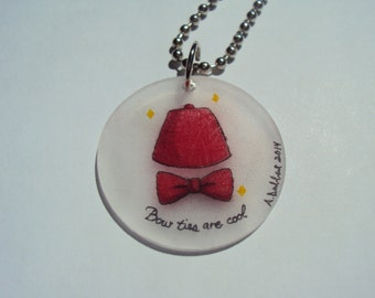 Doctor Who Fez Key Chain