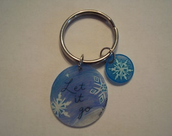 Frozen Inspired Keychain