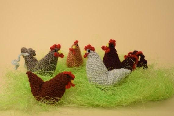 Häkeln Sie Huhn Hahn Häkeln Amigurumi Huhn Und Hahn Ostern Etsy