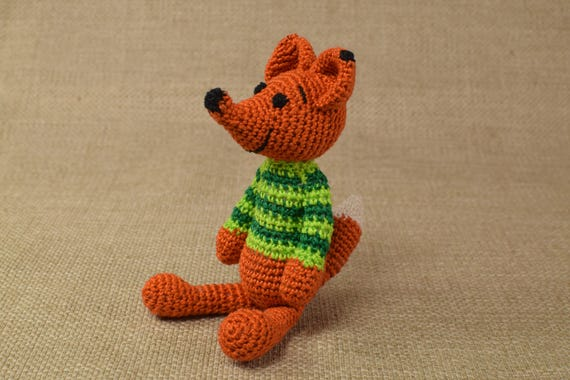 Häkeln Sie Amigurumi Fuchs Ausgestopften Fuchs Plüschtier Etsy