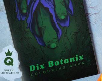 DIX BOTANIX Colouring Book