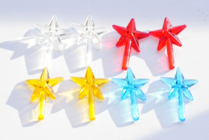 Ceramic Christmas Tree Star Mini Chunky Star Ceramic Christmas Tree Topper Ceramic Tree Star