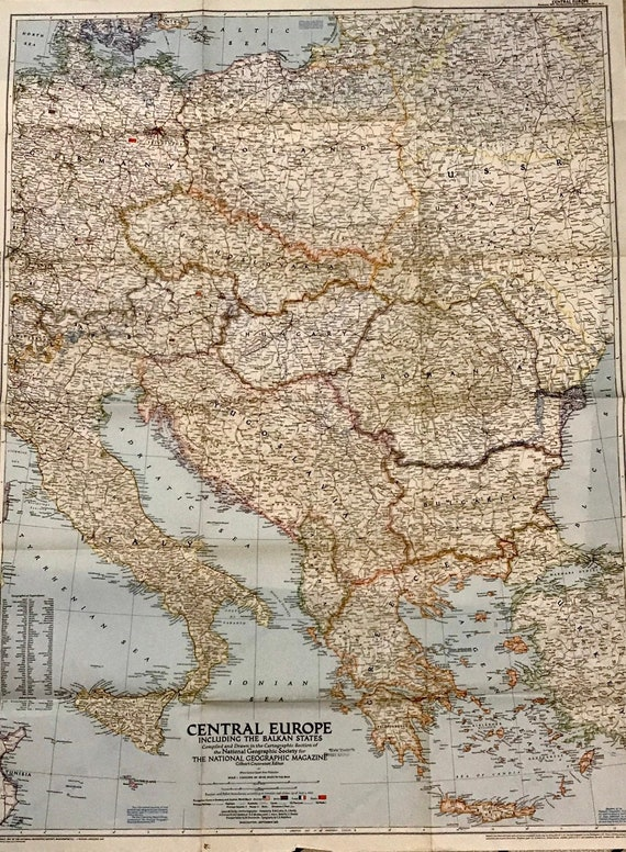 Vintage European Map. National Geographic Maps. Old Map of Europe. on teaching maps, old maps, rand mcnally maps, geoportal maps, distance to distance maps, tom harrison maps, magellan geographix maps, war game maps, military grid maps, stephen alvarez, national geographic abu dhabi, national map viewer, gilbert hovey grosvenor, smithsonian maps, satellite maps, barry bishop, hrw world maps, hubbard medal, topographic maps, national rail, national geography bee winner, melville bell grosvenor, google maps, greenberg v. national geographic, national weather maps, national geographic image collection, national geographic channel, pennsylvania dot maps,