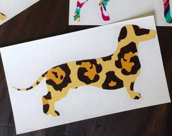 Dachshud Decal | Wiener Dog Decal
