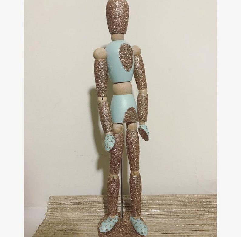 Handpainted Artist Mannequin