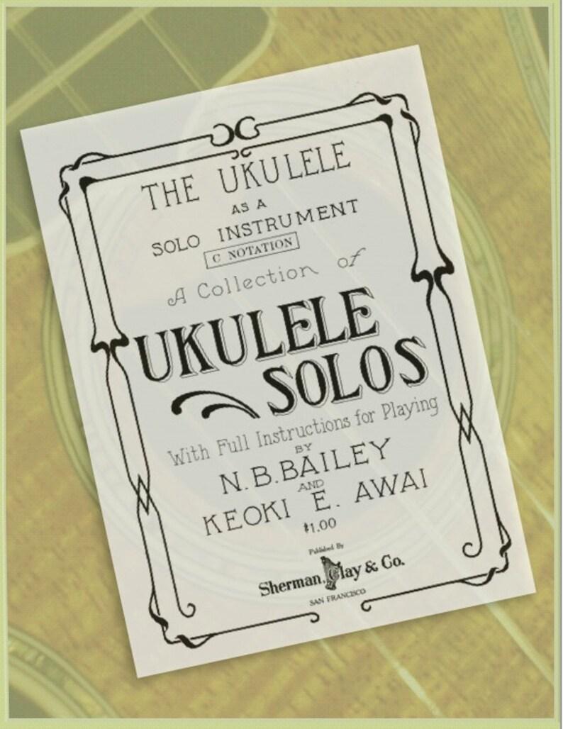 The Ukulele as a Solo Instrument  Ukulele Solos e-Book image 1