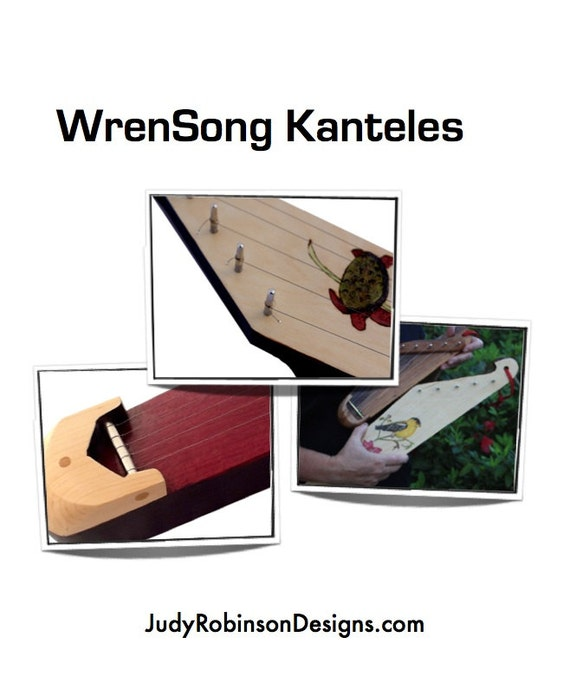 WrenSong Kantele How To Book